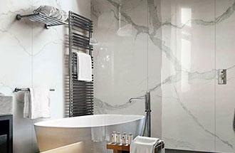 Badkamer Met Marmer : Marmer
